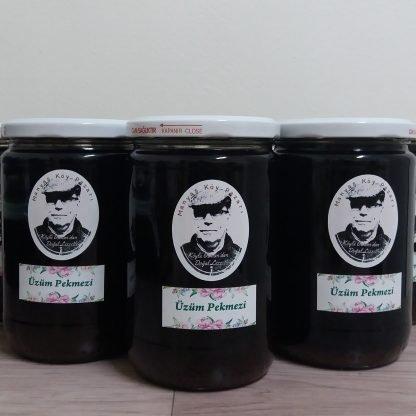 yerli üzüm pekmezi şeker ilavesiz