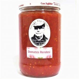 doğal katkısız köy domatesi rendesi