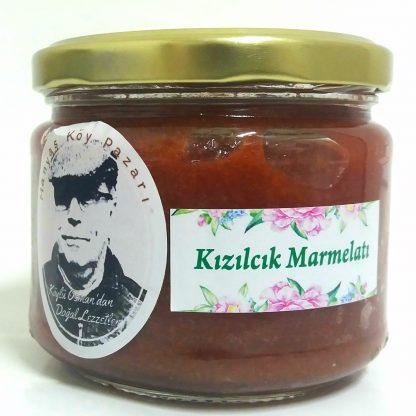 doğal kızılcık marmelatı