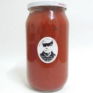 doğal biber domates karışık püre